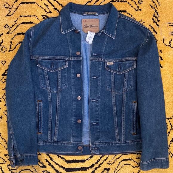 Mens Medium Levis Blue Denim Jacket
